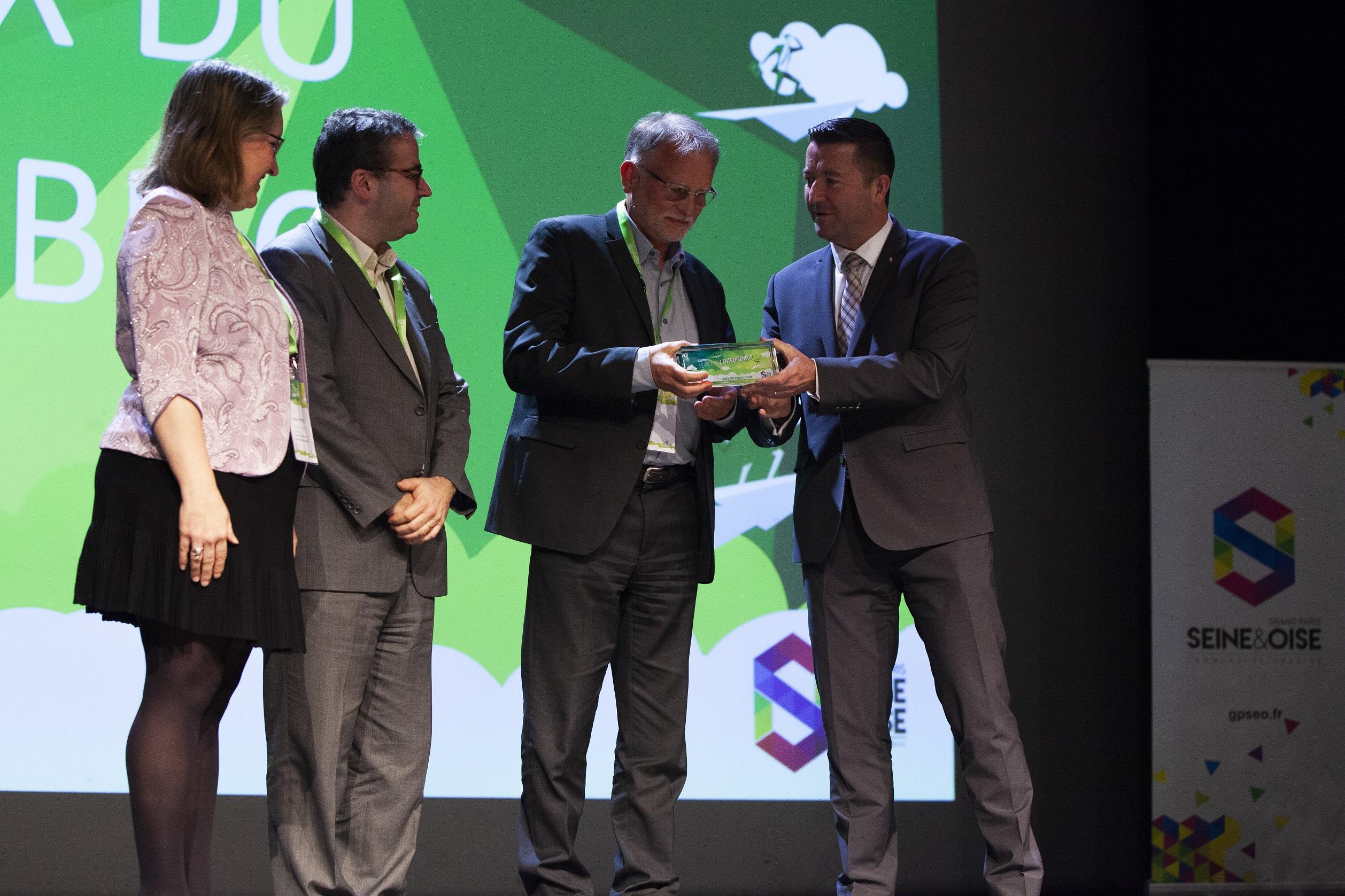 Prix de l'entrepreneur 2019 - Francis Finot