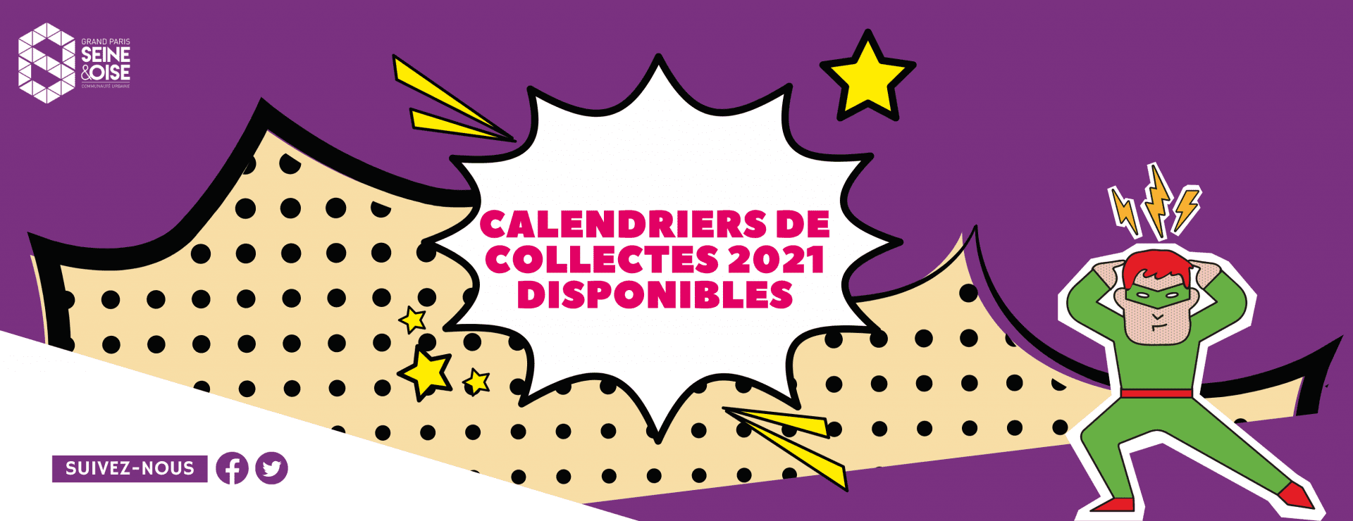 calendriers de collectes 2021