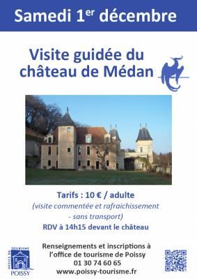 Visite Guide Du Chteau De Mdan