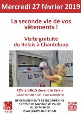 Visite Du Relais Val De Seine A Chanteloup Les Vignes