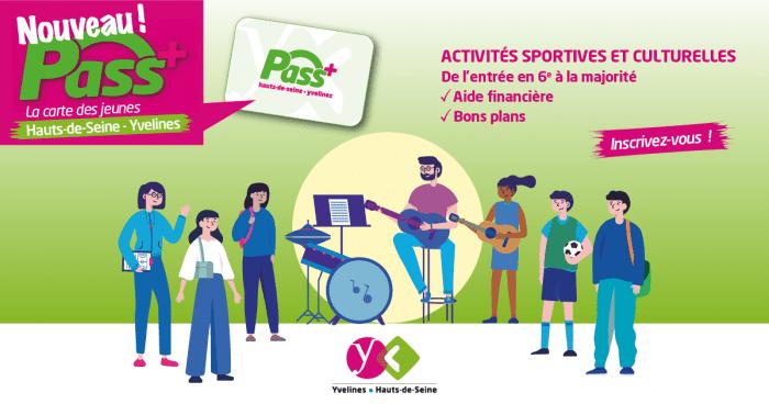 Pass+, le passe sport et culture pour les jeunes des Yvelines   GPSEO